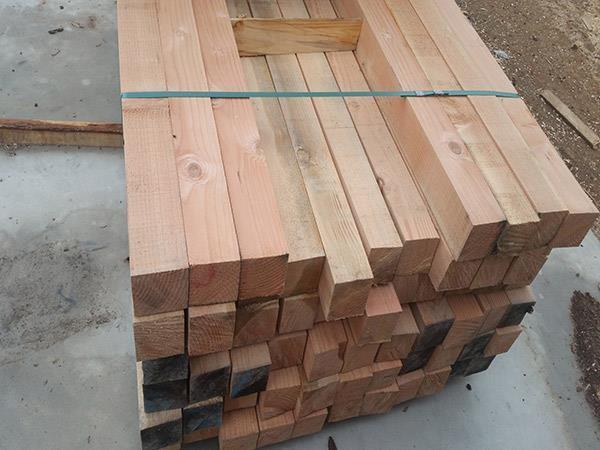 花旗松建筑方木